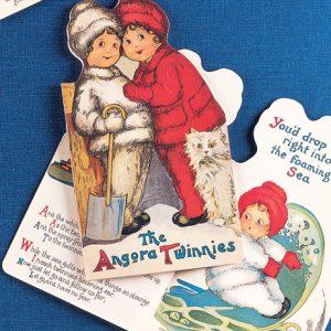 1303 0989 The Angora Twinnies