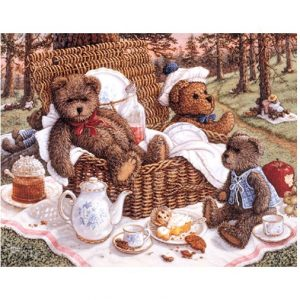 5100 0334 Bears Picnic by Janet Kruskamp