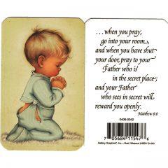 0406 0042 Praying in secret Math. 6:6