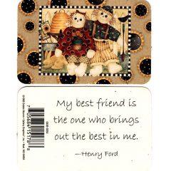 0406 0054 My best friend brings the best….