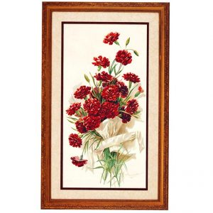 3100 0430 Red Carnations – by A Heinmuller