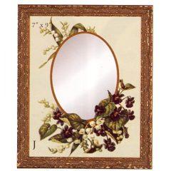 3341 3017 Mirror – Floral Fun