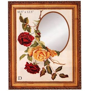 3341 3018 Mirror – Rose Glory