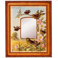 3341 3021 Mirror – Bird family and Roses