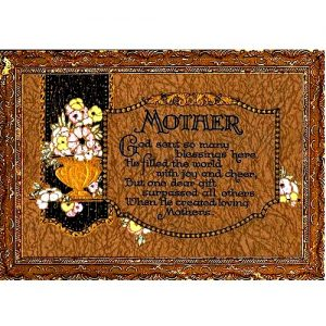 3346 2717 Framed Motto Picture