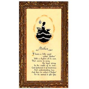 3346 2720 Framed Motto Picture
