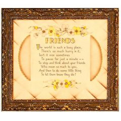 3346 2845 Framed Motto Picture
