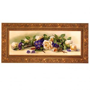 3378 1578 Oil Painting in Ornate Frame