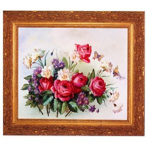 3378 2549 Oil Painting in Ornate Frame