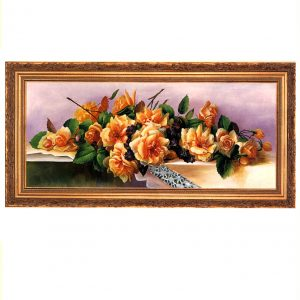 3378 2562 Oil Painting in Ornate Frame