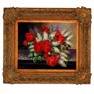 3378 2894 Oil Painting in Ornate Frame