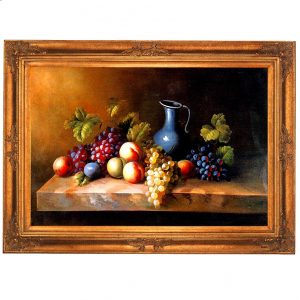 3378 2895 Oil Painting in Ornate Frame