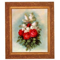 3378 2899 Oil Painting in Ornate Frame