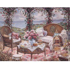 5100 0340 Afternoon Tea by Janet Kruskamp
