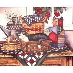 5100 0347 Cat Nap by Laurie Korsgaden