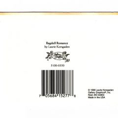 5100 0350 Ragdoll Romance by Lauri Korsgaden