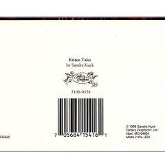5100 0358 Kitten Tales by Sandra Kuck