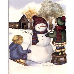 5100 0367 Joyful Winter by Lauri Korsagaden