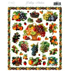 5500 0034 Stickers – Fruit Arrangement
