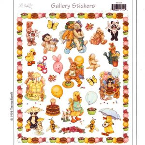 5500 0044 Stickers – Kid's Birthday Party