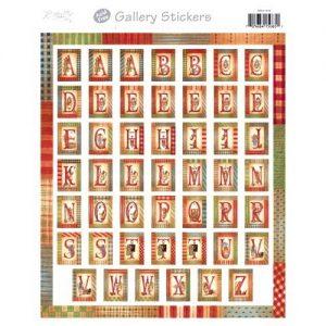 5500 1316 Stickers – Block Alphabet