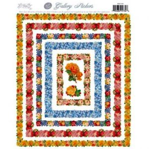 5500 1318 Stickers – Multicolor Roses