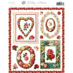 5500 1320 Stickers – Flower Wreaths