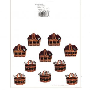 6400 0044 Fold & Seal – Basket of Apples