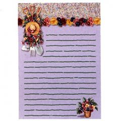 6401 0200 Magnetic Notepad
