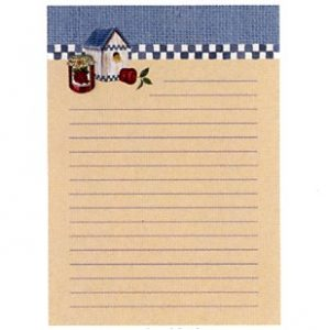 6401 0243 Magnetic Notepad