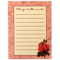 6401 0250 Magnetic Notepad