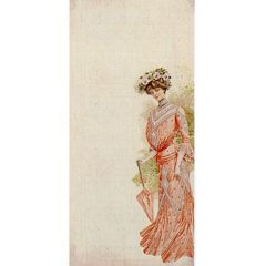 6401 0310 Lady with Parasol