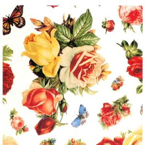 6420 0004 Gift Wrap: Victorian Rose