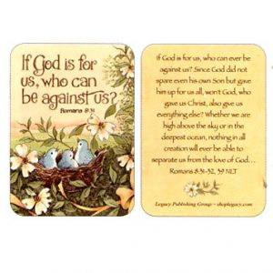 IPC 2355 If God is for us, who can be against us? Rom. 8:31