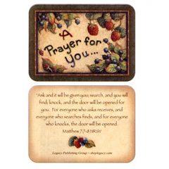 IPC 2576 A Prayer for You Mat. 7:-7-8