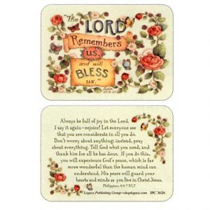 IPC 3626 The Lord Remembers us and will Bless us