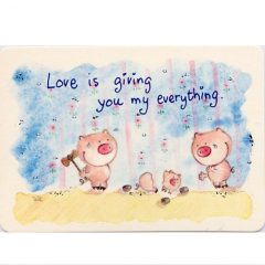 K129 Love is giving ….