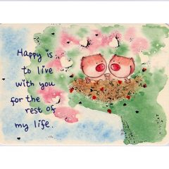 K161 Happy is to live with you….