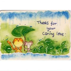 K168 Thanks for your caring love