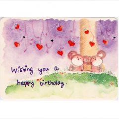K174 Wishing you a Happy Birthday