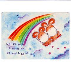 K252 Heart full of …. World full of Hope