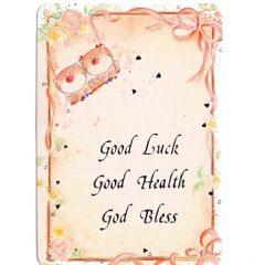 K279 Good Luck – Good Heath – God Bless