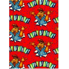 Wrap 06 Alf Wrapping paper