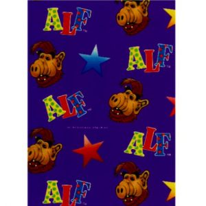 Wrap 07 Alf Wrapping paper
