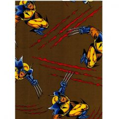 Wrap 17 Wolverine Wrapping paper