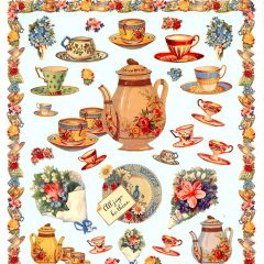 5500 0037 Victorian Stickers