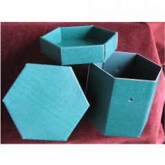 Box 4 Hexagon Box
