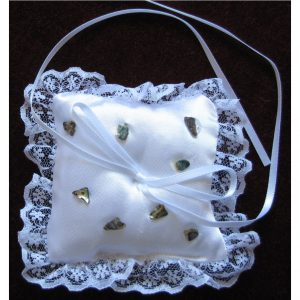 SL401 White Ring Cushion