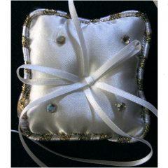 SL403 White Ring Cushion