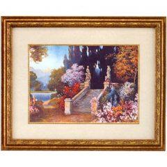 3100 4149 Stairway in a Garden – by R.Atkinson Fox